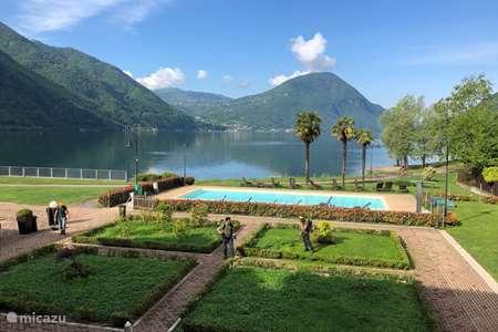 Vakantiehuis Italië, Italiaanse Meren, Porlezza - appartement Porto Letizia P7, meerzicht Lugano