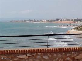 Uitzicht vanop een wandelweg Cabo-roig. Op een 7tal minuutjes van het huis