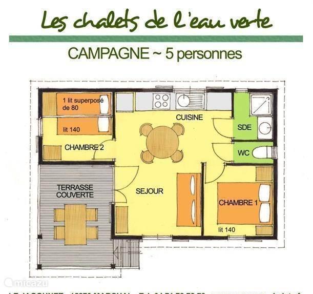 Campagne cottage plannen