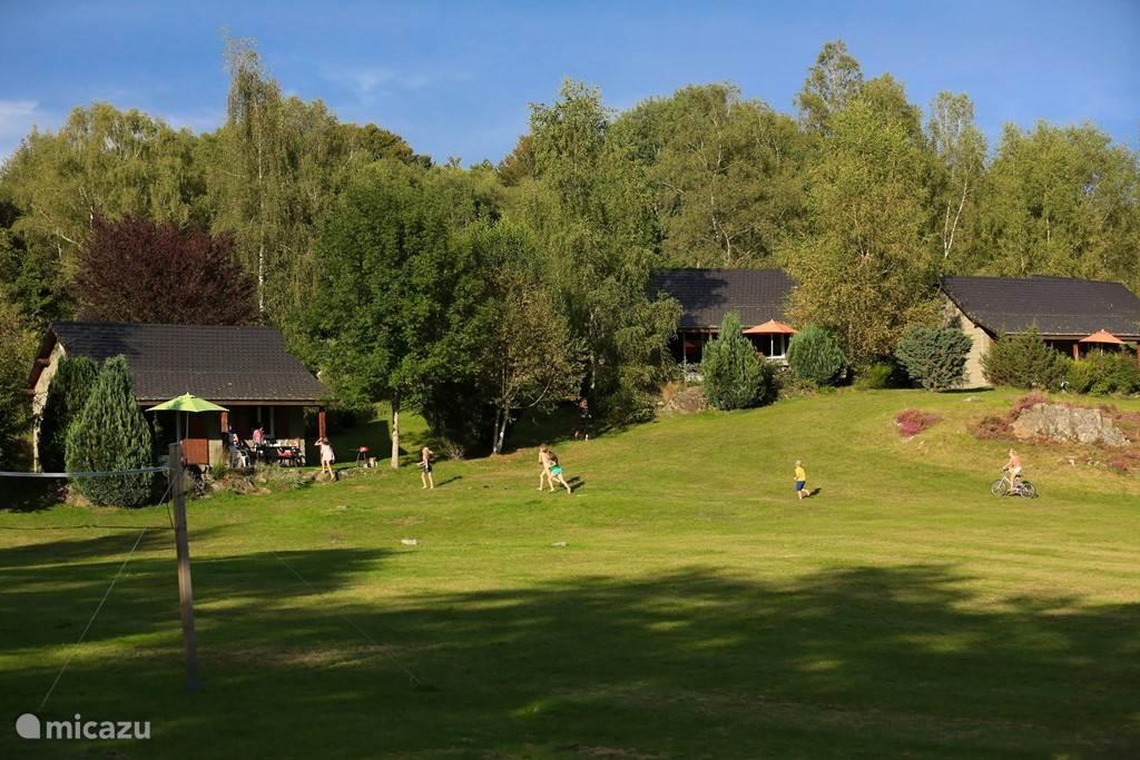 Vakantiehuis Frankrijk, Cantal, Champs-sur-Tarentaine-Marchal Chalet Chalet de l'Eau Verte Vakantiepark