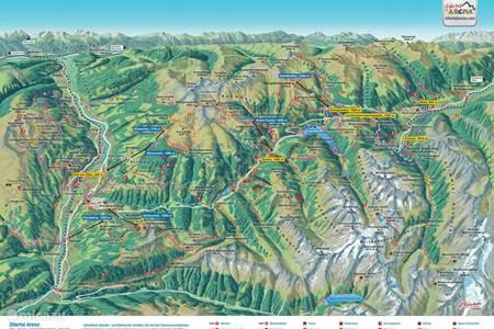 Wandel en Mountainbike paradijs Zillertal