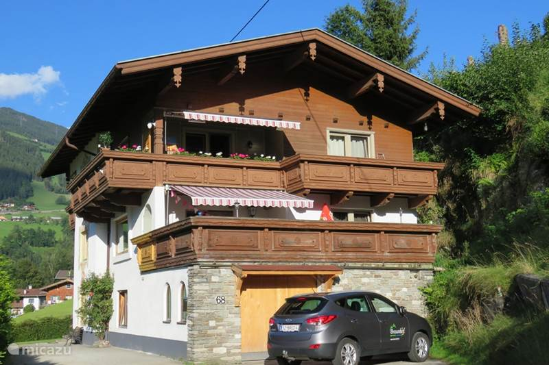 Vacation rental Austria, Tyrol, Zell am Ziller Apartment Braunhof Apartment Gerlosstein