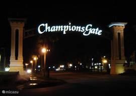 Onze villa ligt in de wijk: Champions Gate.