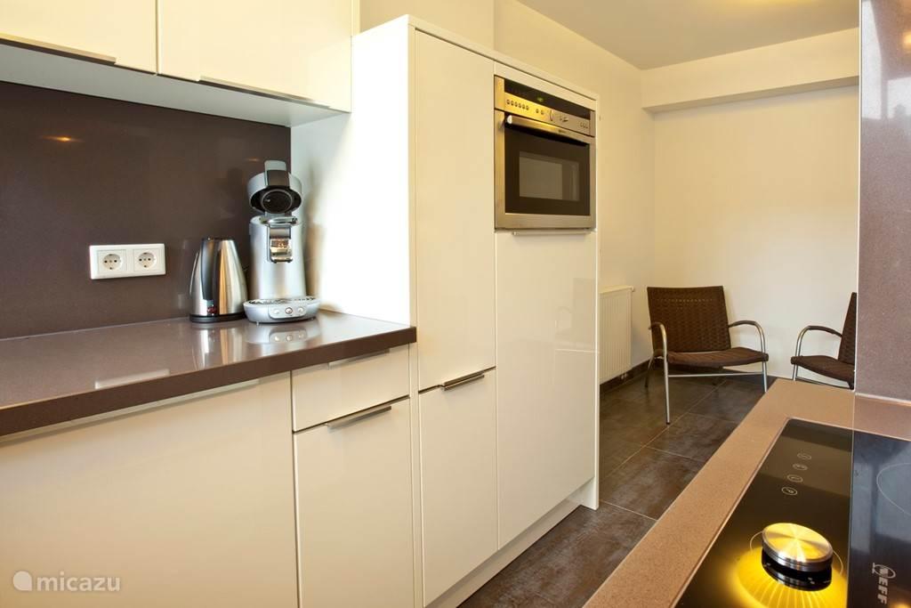 Appartement A koffie apparaat senseo.