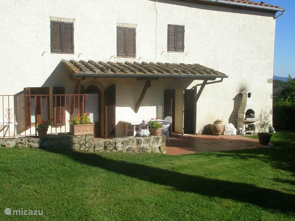 Vakantiehuis Italië, Toscane, Radicondoli appartement Casa Vecchia