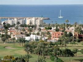 Prachtig uitzicht op de Middellandse Zee.