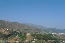 Bekende witte dorpen in het Alpujarras gebergte.
