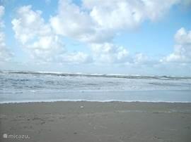 Zee op 2km afstand van ons vakantiehuis.
