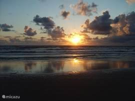 Zonsondergang Sint Maartenszee.