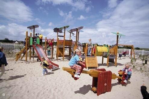 Deze speeltuin ligt in het centrum van de Banjaard.