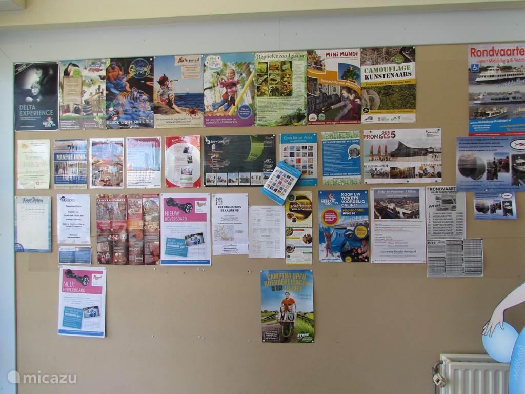 Er is altijd wat te doen in Zeeland. Bij de receptie van de Banjaard kunt u zich laten informeren over de activiteiten op het park en in de omgeving.