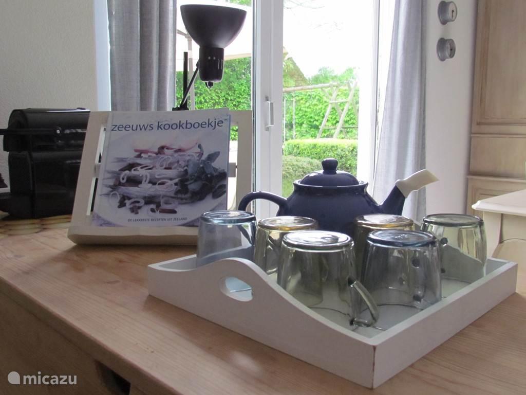 Met een kopje thee inspiratie opdoen voor een lekkere Zeeuwse maaltijd!