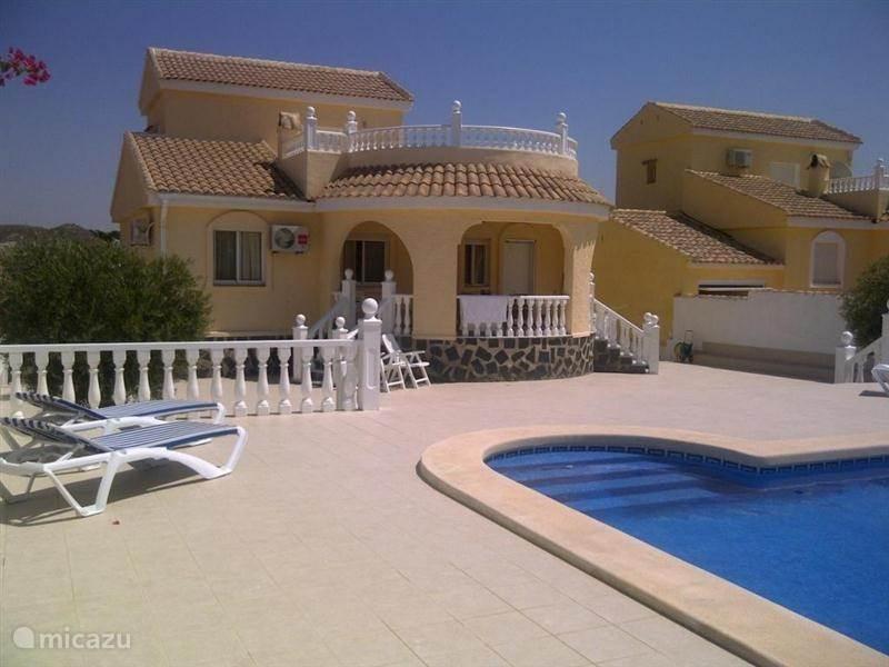 Vakantiehuis Spanje, Costa Cálida, Mazarrón Vakantiehuis Casa Creta