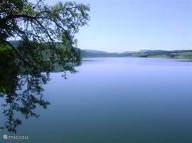 A large lake which lies in the vicinity of the cottage. To sail. Ideal for fishing, swimming or just canoe