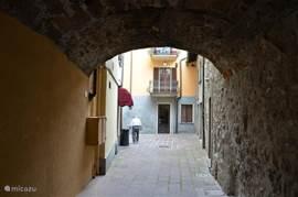 Een doorkijkje in het oude centrum.