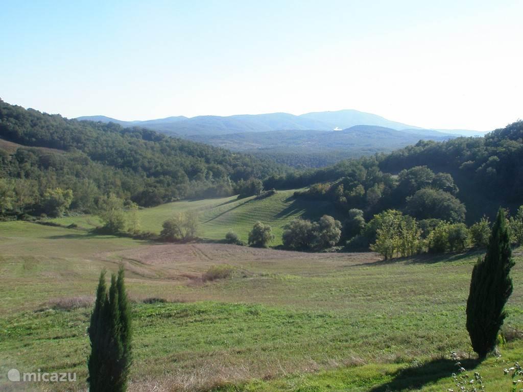 Uitzicht vanuit Il Cilligio.