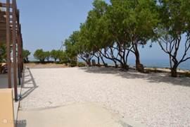 Uitzicht over de Middellandse zee (villa 1)