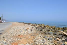 Zee voor de villa