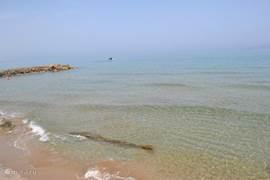 Prachtig helder zee water