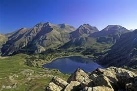 Lac d'Allos,Parc National Mercantour: Grootste hooggelegen Alpenmeer van Europa