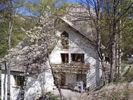 Ons huis in het voorjaar