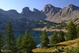 Lac d'Allos op 10 KM