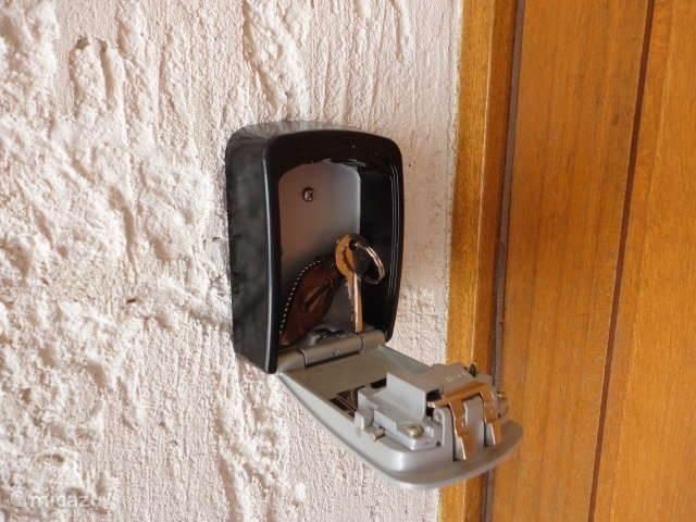 Sleutel in het sleutelkluisje