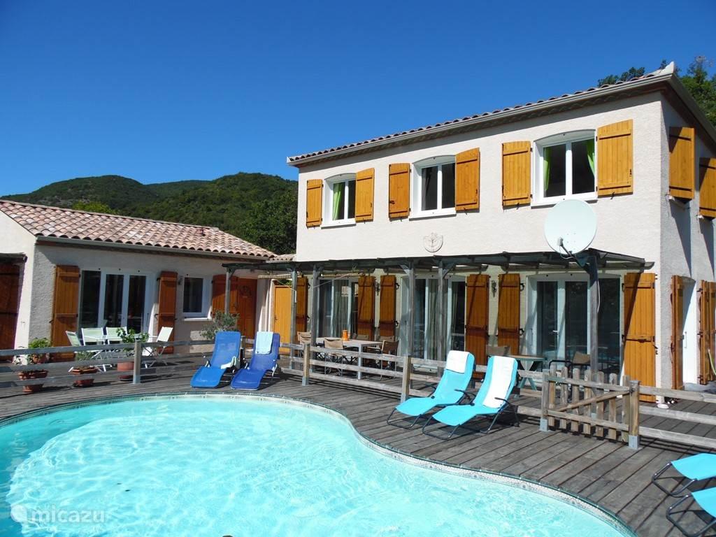 Vakantiehuis Frankrijk, Languedoc-Roussillon, Massac Villa Le Grand Passié