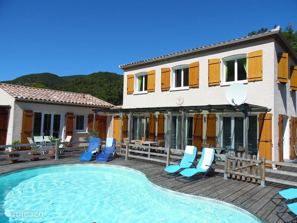 Vacation Rental France, Languedoc Roussillon, Massac Villa Le Grand Passié  ...