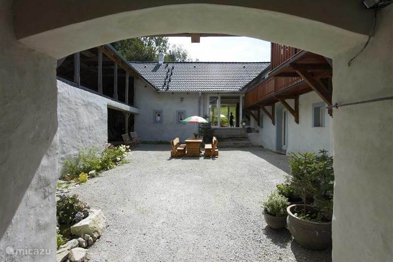 Vakantiehuis Tsjechië, Zuid-Bohemen, Cerná v Pošumaví Vakantiehuis Boheemse Hoeve