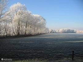 Ook in de winter is het uitzicht fantastisch