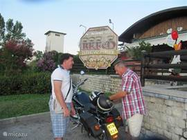 with the moto to BEFeD delicious restaurant aviano