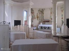 in het kasteel van Conegliano 10 minuutjes met de trein vanuit Sacile (Friuli- Venezia-Giuglia)