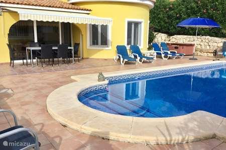 Vakantiehuis Spanje, Costa Blanca, Gata de Gorgos villa Villa Spanje prive zwembad + Jacuzzi