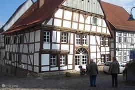 Vakwerkhuis in Korbach