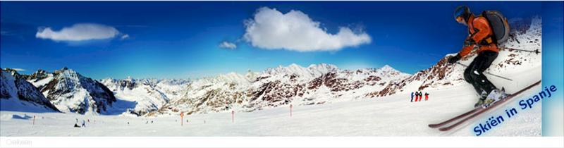 Skiën in Spanje.