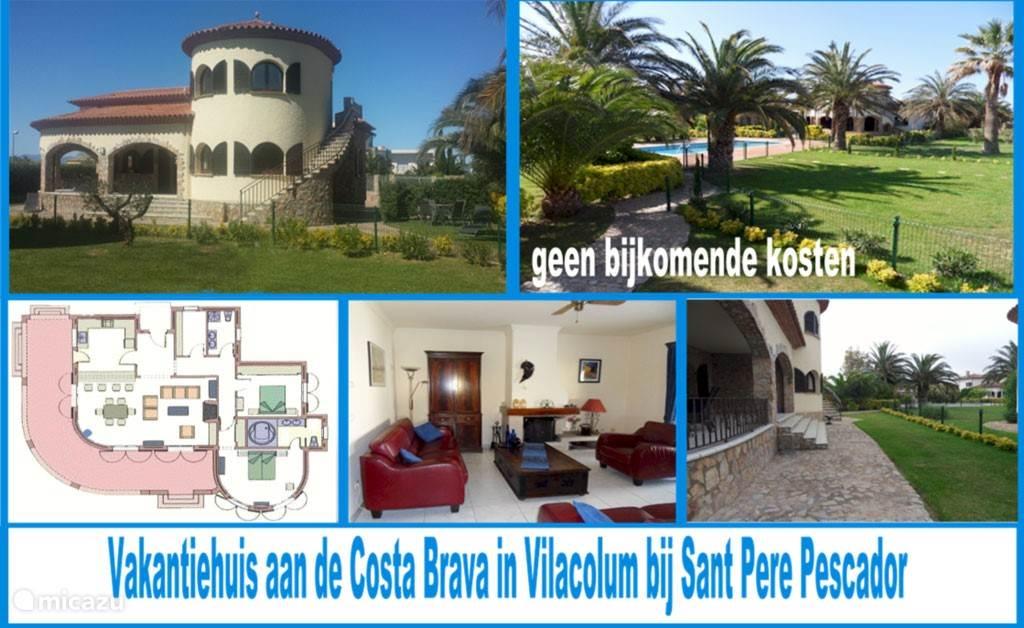Vakantiehuis Spanje, Costa Brava, Sant Pere Pescador villa Costa Brava Villa in Vilacolum