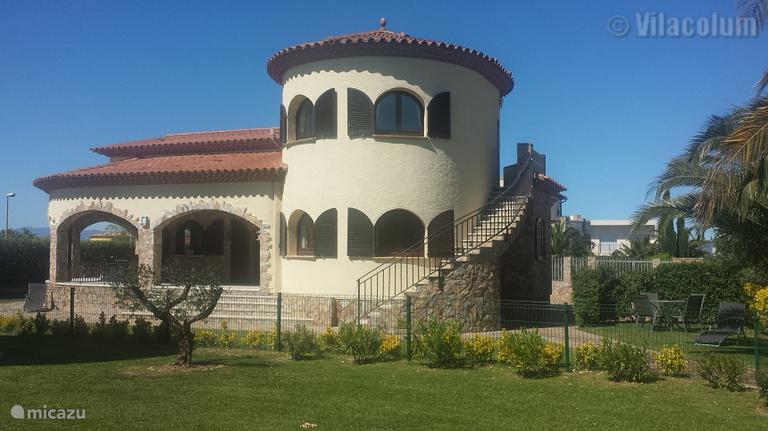 Villa Cel à Terra aan de Costa Brava Nabij Sant Pere Pescador in VIlacolum (begane grond)