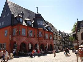 UNESCO town of Goslar. 15 KM from the house.
