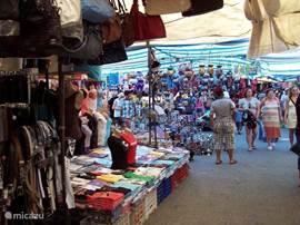 Manavgat is heel vlot te bereiken met de dolmus (Turkse minibus) die op 300 meter van het penthouse stopt. Naast de groenten- en fruitmarkt ligt de nog grotere markt met : kleding, handtassen, parfum, kruiden, snuisterijen, ... En buiten de markt heeft Manavgat ook nog de gewone winkelstraten (te