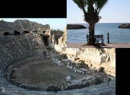 Ook heel mooi is het Romeins amphitheater.