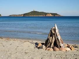 Zelfs in de winter is het heerlijk vertoeven op Corsica. Deze foto is genomen met de jaarwisseling!