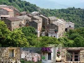 De bebouwing van de Corsicaanse dorpjes in de bergen van Corsica zijn zeer herkenbaar en karakteristiek. Ieder dorp zal u weer verrrassen in het ruige bergachtige binnenland.
