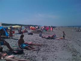 strand op loopafstand ( 800mtr)