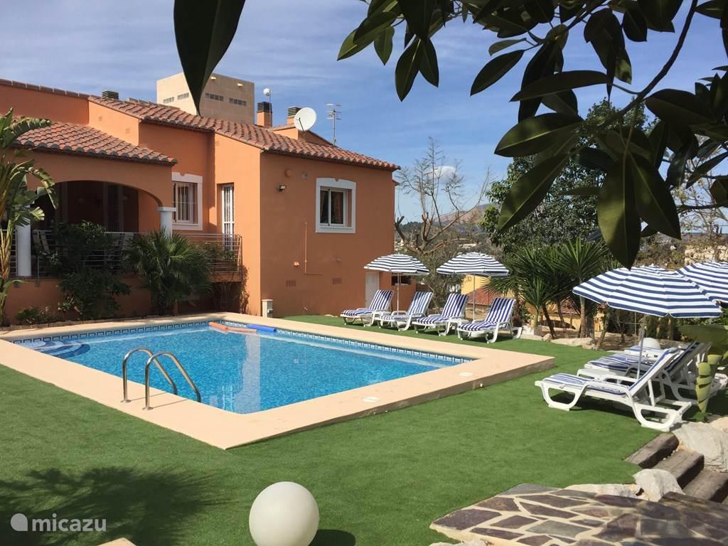 Vacation rental Spain – villa Villa SunDance