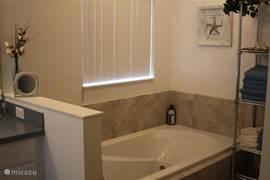 Master- bathroom met ligbad