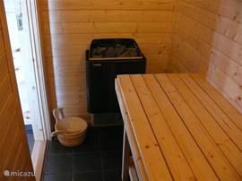 Heerlijk even lekker in de sauna genieten!
