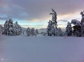 Ook in de winter is het er sprookjesachtig!