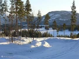 Winteruitzicht op de Nisser.