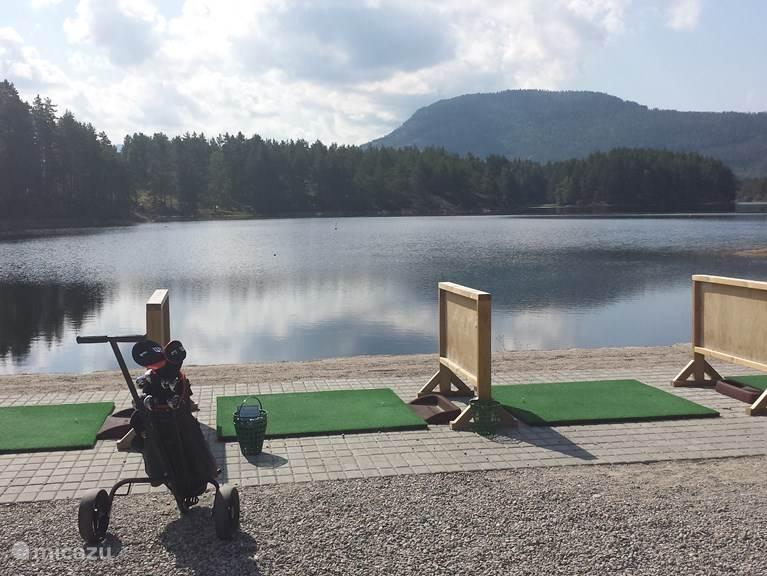 Golfbaan Vradal, driving range